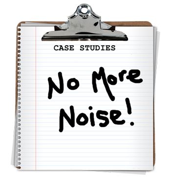 No more noise!